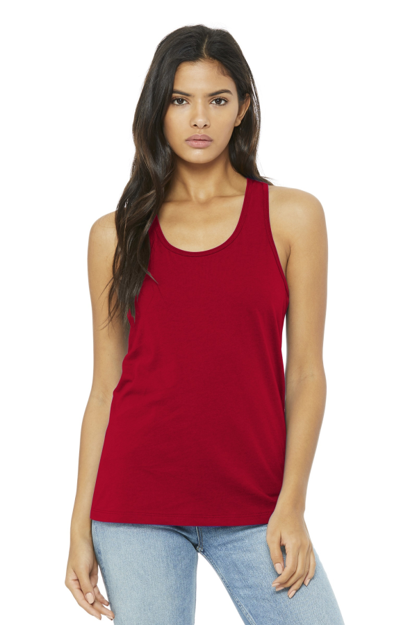 Bella+Canvas Embroidered Women's Racerback Tank
